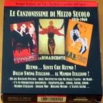 LE CANZONISSIME DI MEZZO SECOLO - 1910-1960