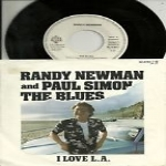 RANDY NEWMAN AND PAUL SIMON -  The blues / Same girl.