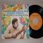 RENATO RASCEL (Gino Conte e la sua orchestra) - Bambina dagli occhi neri / Renatino e la coscienza