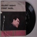 MARIO LANZA  - Silent night / First Noel (canto tradizionale francese).