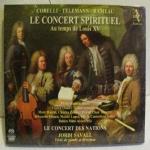 Le Concert Spirituel au temps de Louis XV
