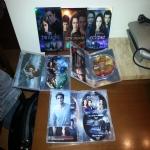 3 COFANETTI DA 2 DVD L'UNO PARI A NUOVI,ORIGINALI,COMPLETI,DELLA SAGA DI TWILIGH:TWILIGHT,NEW MOON,ECLIPSE