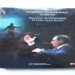 L'ORFEO - DVD LA SCALA - opera  di Claudio Monteverdi