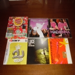 5 CD-MADONNA:HUNG UP,FREDDI MERCURY:TRIBUTE TO REMIX,CHIEF E REVERENDO:LUCE,TECH HOUSE PARTY VOLUME 9 DJ VOICE,CARACTER ESPANOL