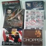 SERIAL KILLER e TRUE CRIME: Ed Gein (Il macellaio di Plainfield), Ted Bundy, Ted Bundy il serial killer, S.O.S. Summer of Sam Panico a New York, Chopper, Elephant