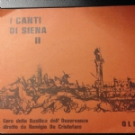I CANTI DI SIENA II