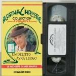 Un delitto avr� luogo VHS FILM Agatha Christie Le inchieste di miss Marple