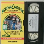 La miniera perduta FILM VHS Agatha Christie Collection