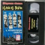Misterioso omicidio a Manhattan FILM VHS Woody Allen Diane Keaton, Ron Rifkin