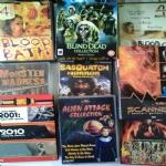 BOX HORROR & SCI-FI: SCANNERS i pensieri possono uccidere, 2001 odissea nello spazio + 2010 anno del contatto + THX 1138, BLIND DEAD COLLECTION,  Alien Attack, Monster Madness, Haunted by the Past, Blood Bath , Blood Bath 2 , Sasquatch Horror
