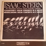 Isaac Stern violin; The Philadelphia Orchestra dir. Eugene Ormandy