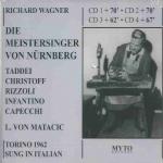 DIE MEISTERSINGER VON NURNBERG     4CDs     066.338