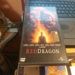 red dragon - doppio dvd