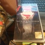dvd batman v superman - dawn of justice