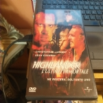 dvd highlander - l'ultimo immortale