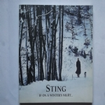 STING IF ON A WINTER'S NIGHT - CD-DVD PROMO