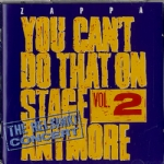 You can't do that on stage anymore vol. 2 2 CD