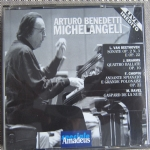 ARTURO BENEDETTI MICHELANGELI Live Inedito Cofanetto 2 Cd Beethoven Brahms Chopin Ravel