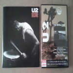 U2, Desire, RARE promo vinyl single gatefold + DVD