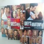 grey's anatomy  terza quarta e quinta serie complete