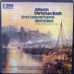J.C.BACH Drei concertante sinfonien C-dur - F-dur - ES-dur