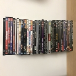 34 DVD +un cofanetto con 3 DVD