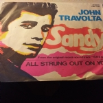 SANDY / ALL STRUNG OUT ON YOU