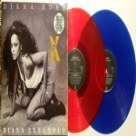 Diana Extended: The Remixes (2 LP RED & BLUE) - Limited Edition