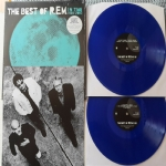 In Time - The Best of R.E.M. (Limited BLUE Edition) (2 LP) (180 Gr.) SIGILLATO