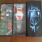 8 DVD BATMAN CAVALIERE OSCURO TIM BURTON RITORNO FOREVER ROBIN SUPERMAN