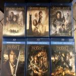 Saga completa in Blu-ray di Lord of the Rings e lo Hobbit