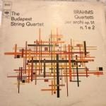 Brahms quartetti per archi