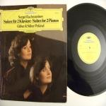 Sergei Rachmaninoff Suite Nr.1 Fantasie (Tableaux) op.5 - Suite Nr.2 op.17