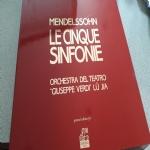 Mendelsshon - Le cinque sinfonie - cofanetto