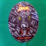 VENOM LP LIVE 33 GIRI OFFICIAL BOOTLEG PICTURE DISC