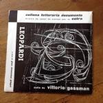 LEOPARDI DETTO DA VITTORIO GASSMAN CL 0439 33 GIRI