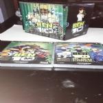 BEN 10 Serie Completa 4 Stagioni n. 13 DVD  con Cofanetto e omaggio